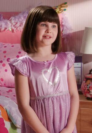Rebecca as a child