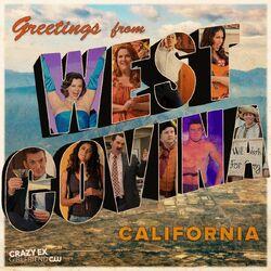 West Covina postcard