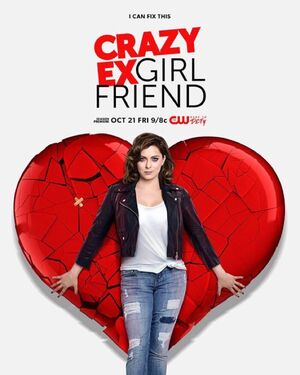 Crazy Ex-Girlfriend Season Two poster