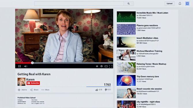 Karen's YouTube channel