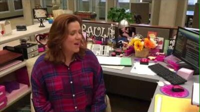 Crazy Ex-Girlfriend - Paula Proctor's desk
