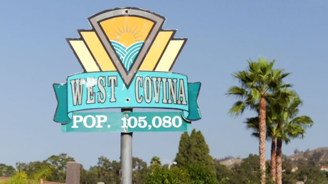 West Covina sign