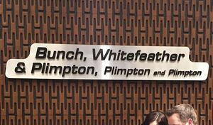 Bunch, Whitefeather, Plimpton, Plimoton & Plimpton