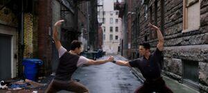 CXG Broadway fighting