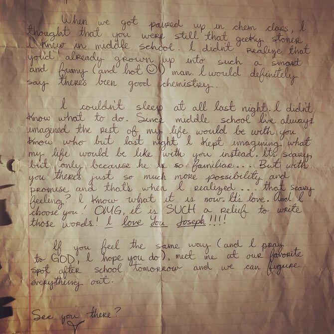 Valencia's love letter