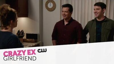 Crazy Ex-Girlfriend Inside When Will Josh and His Friend Leave Me Alone? The CW