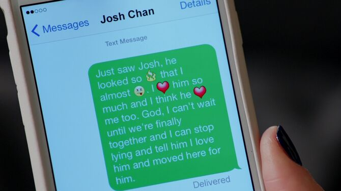 That Text Was Not Meant for Josh! | Crazy Ex-Girlfriend Wiki