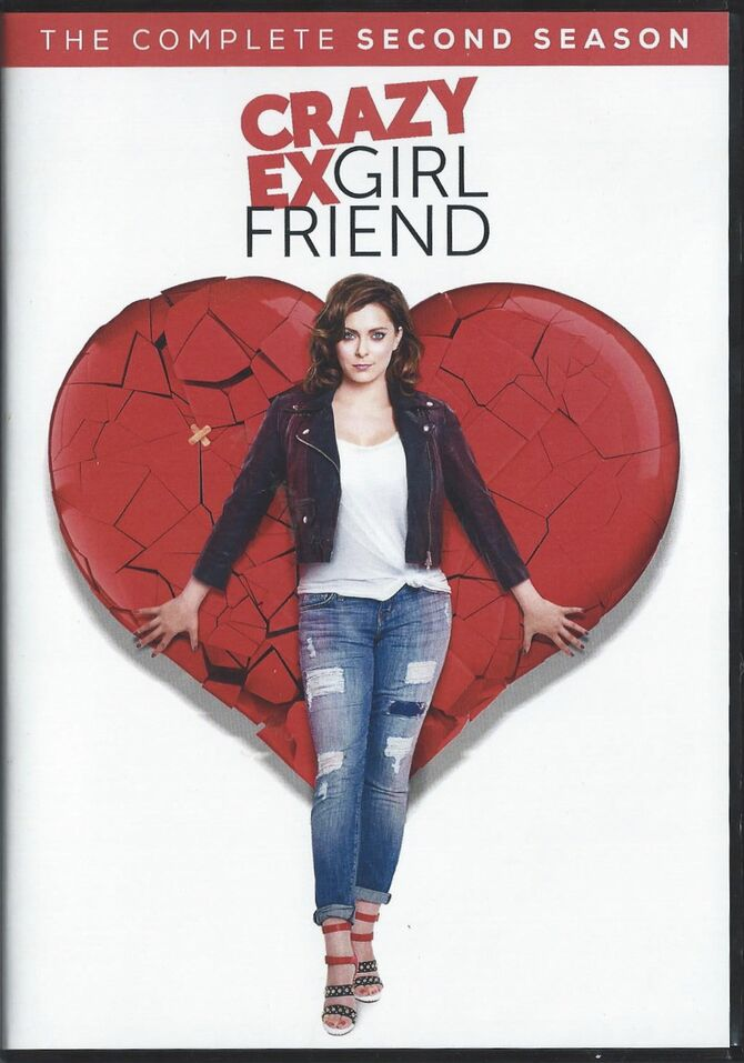 Crazy Ex Girlfriend season Two DVD cover