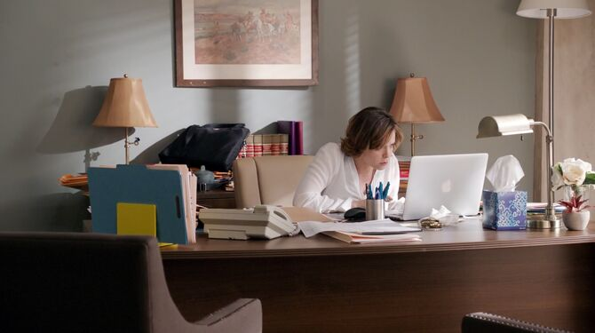 Rebecca's office