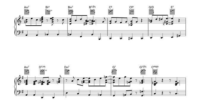 CXG sheet music