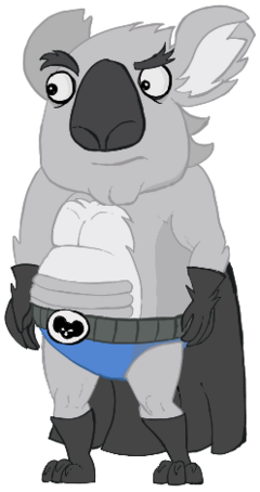 Caped Koala