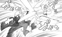 Giriko kämpft gegen Justin