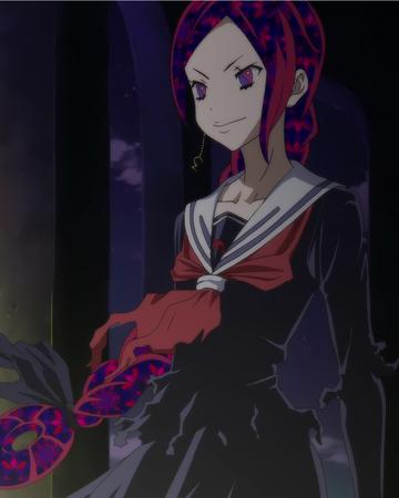Anime girl mit waffe