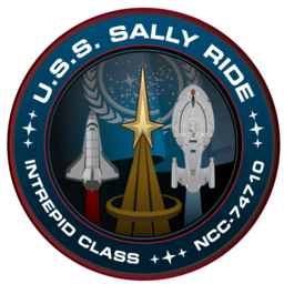 Sally Ride Mission Patch