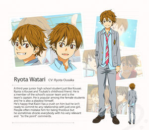 Watari Ryōta | Shigatsu wa Kimi no Uso Wiki | FANDOM powered by Wikia