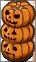 Three Pumpkins (Left)