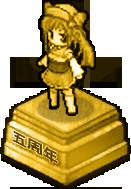 Big Gold Statue