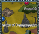 Barrier of Transgression