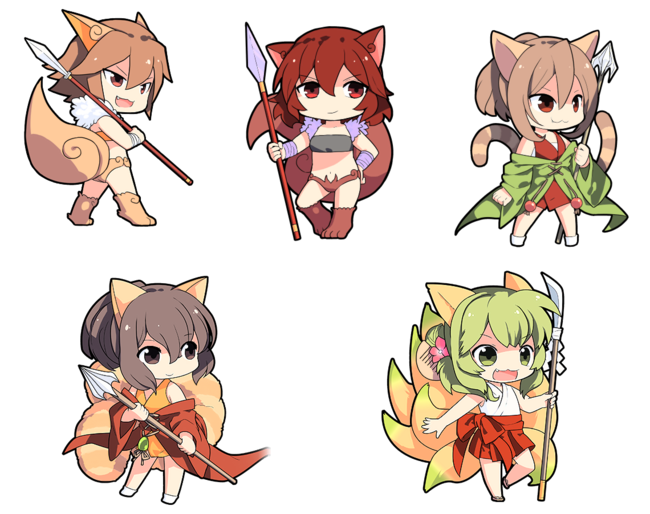 Chibi Spears