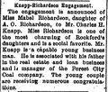 Morning Star.1895-09-21.Knapp-Richardson Engagement.jpg
