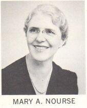 Mary Nourse 1966