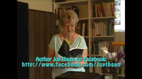 "Michigan Author Joy Ibsen reads part of her new book ""Unafraid"" at hometown Trout Creek Library"
