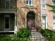 Waukegan 438 exterior east main door