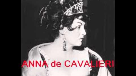 Anna de Cavalieri - Vissi d'arte - Tosca, de Puccini