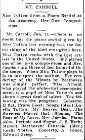 1898-01-13 register gazette mt carroll p3 totten recital