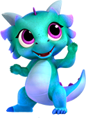 Nazboo Dragon from Shimmer and Shine