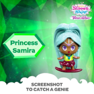 Shimmer and Shine Princess Samira Surfing Toy