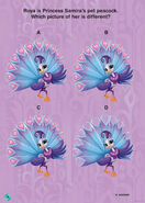 Shimmer and Shine Roya the Peacock Game