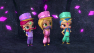 Shimmer, Shine and Leah in Wild Carpet Chase