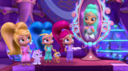 Princess Samira, Shimmer, Shine, and Leah SP