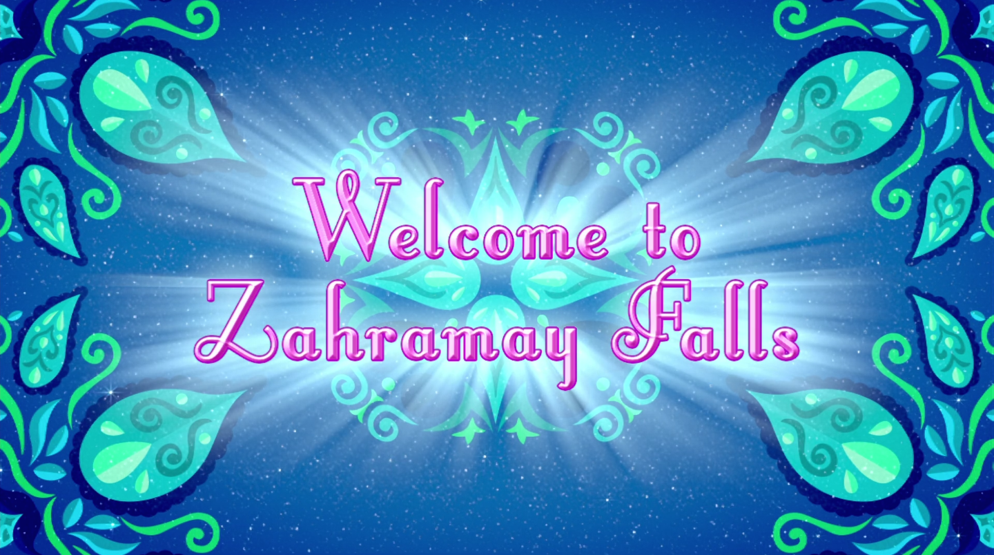 Welcome To Zahramay Falls Shimmer And Shine Wiki