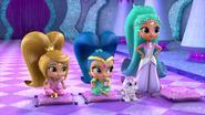 1 Leah, Nahal and Princess Samira Shimmer and Shine