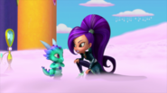 Zeta the Sorceress and Nazboo Shimmer and Shine Flying Flour 2