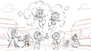 Shimmer and Shine Season 2 Production Sketch