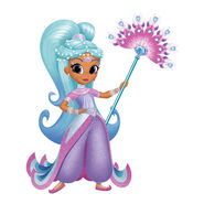 Shimmer and Shine Princess Samira 2D Character Art