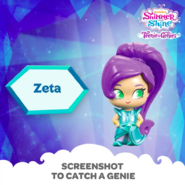Shimmer and Shine Zeta the Sorceress Toy