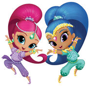 Shimmer and Shine Genies