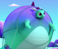 Shimmer and Shine Nazboo the Dragon Inflation