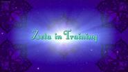 Zeta in Training