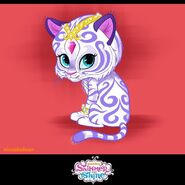 Nahal Character Design 2013 Shimmer and Shine