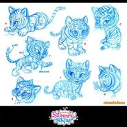 Nahal Sketches 2013 Shimmer and Shine