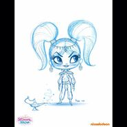 Shimmer and Shine Genie Design 2 2013