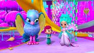 Shimmer and Shine Princess Samira with Zain and Kaz