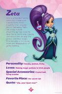 Shimmer and Shine Zeta the Sorceress Bio