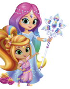 Shimmer and Shine Imma and Leah