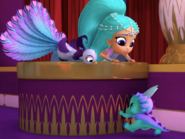 Shimmer and Shine Roya the Peacock in Untamed Talent 2